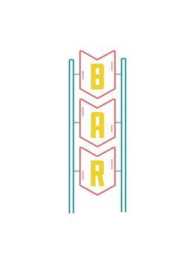 Bar toile