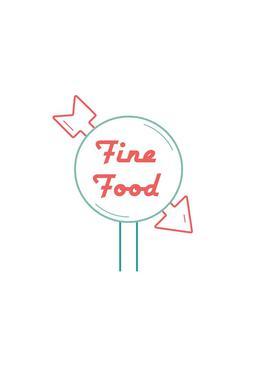 Fine Food Impression sur alu-Dibond