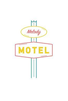 Motel tableau en verre