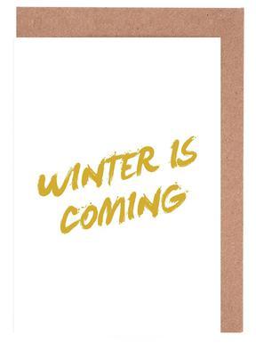 Winter is Coming wenskaartenset