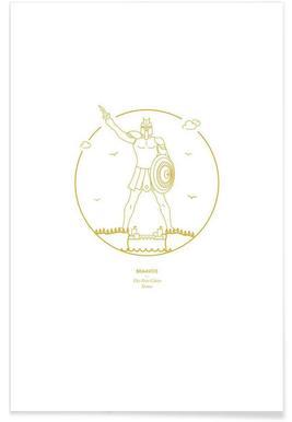 Braavos – minimalistisch -Poster