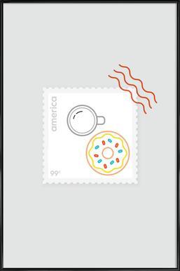 Doughnut Time ingelijste poster