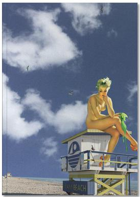Miami Pinup Notebook