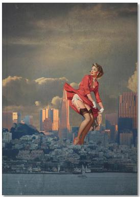 Pinup San Francisco Notebook