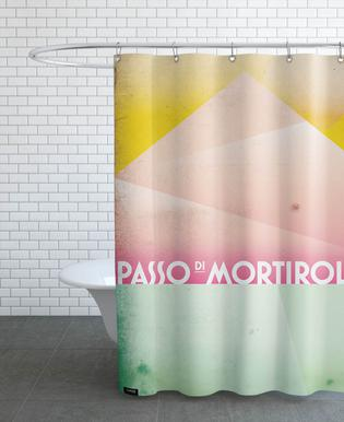 Passo di Mortirolo Shower Curtain
