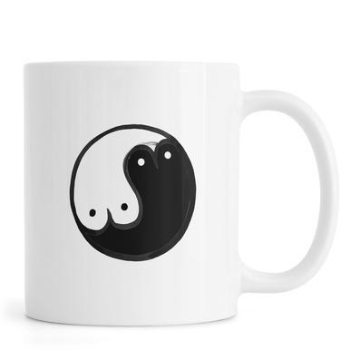 Boob Yin Yang Mug