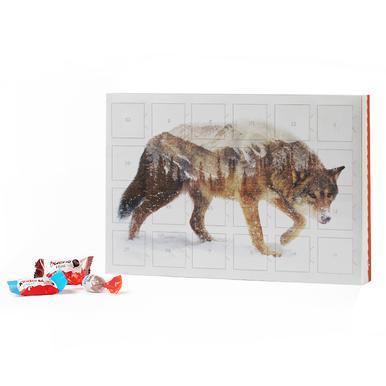 Arctic Wolf 2019 Chocolate Advent Calendar - Kinder