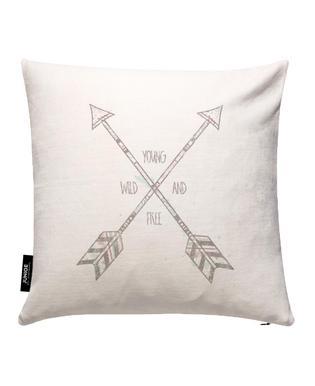 Arrows Housse de coussin