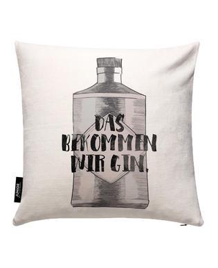 Gin Kissenbezug