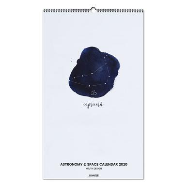 Astronomy & Space Calendar 2020 - KRUTH DESIGN -Wandkalender
