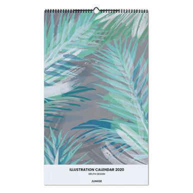 Illustration Calendar 2020 - KRUTH DESIGN Wall Calendar