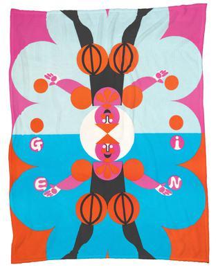 Gemini Fleece Blanket
