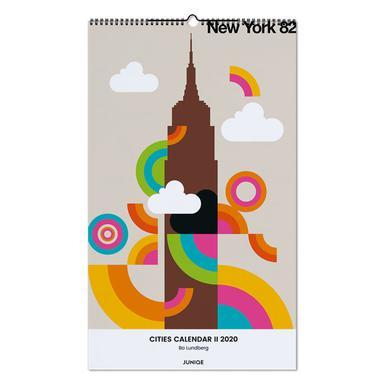 Cities Calendar II 2020 - Bo Lundberg Wall Calendar