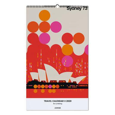 Travel Calendar II 2020 - Bo Lundberg Wall Calendar