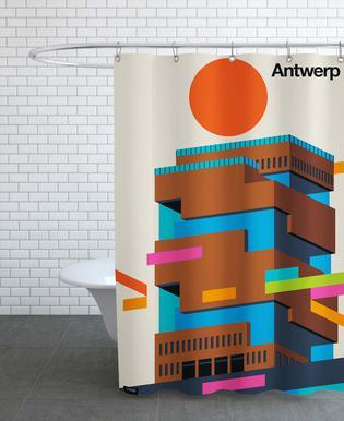 Antwerp 11 Shower Curtain