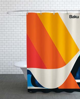 Baku 12 Shower Curtain