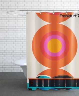 Frankfurt 79 -Duschvorhang