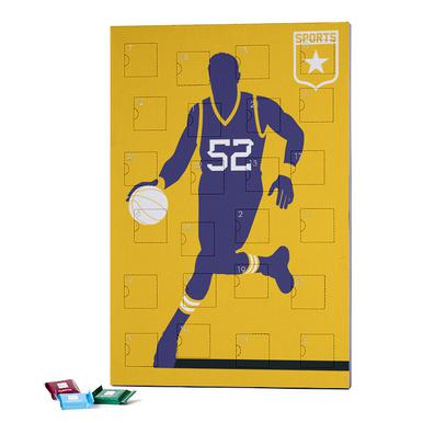 Basketball 2019 Chocolate Advent Calendar - Ritter Sport