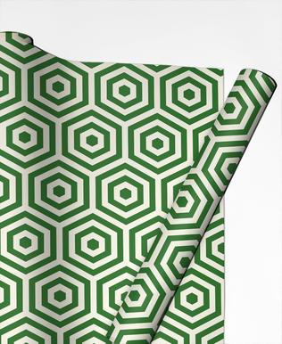 Green Beehive papier cadeau