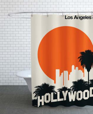 Los Angeles 89 Shower Curtain