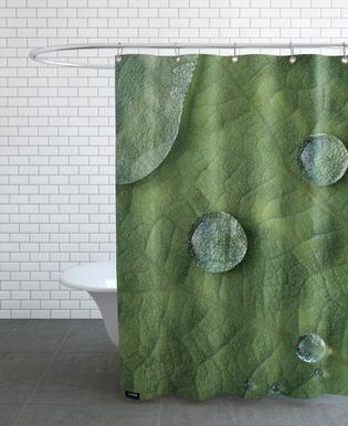 Lotus Water Drops douchegordijn