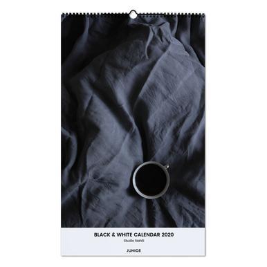Black & White Calendar 2020 - Studio Nahili -Wandkalender