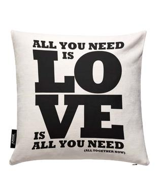 All you need is love Kissenbezug