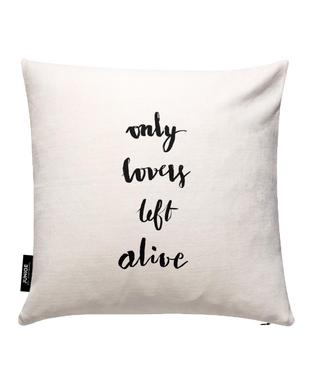 Only Lovers Left Alive Grey Cushion Cover