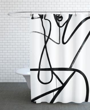 Pop Body Shower Curtain