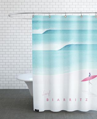 Biarritz rideau de douche