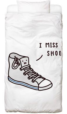 I Miss Shoe -Kinderbettwäsche