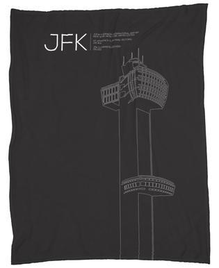 JFK New York Tower Black