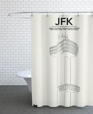 JFK New York Tower rideau de douche