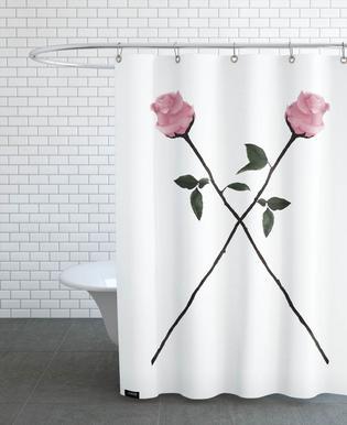 X-Rose -Duschvorhang
