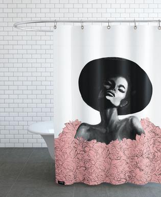 Pink Swim -Duschvorhang