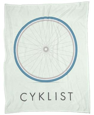 Cyklist Fleece Blanket