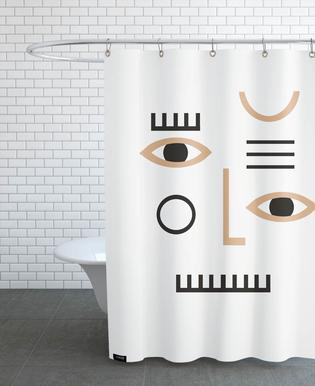 Pleione Shower Curtain