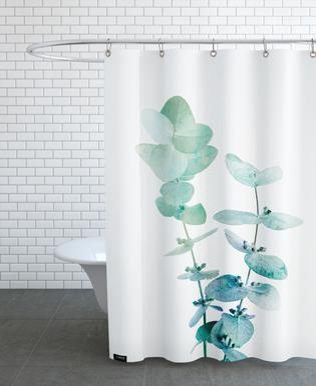Print 18 rideau de douche