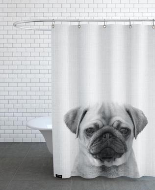 Print 44 -Duschvorhang