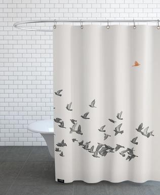 Bird And Birds douchegordijn
