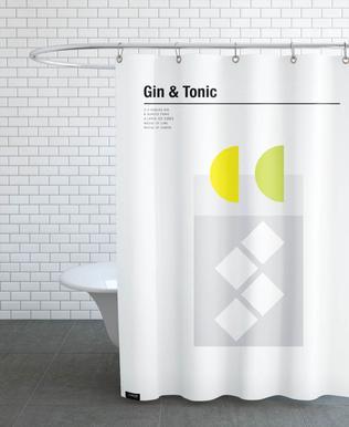 Gin & Tonic Shower Curtain