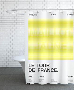 Maillot Jaune Shower Curtain