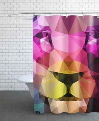 Wild Neon 01a Shower Curtain