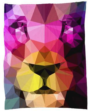 Wild Neon 01a Fleece Blanket