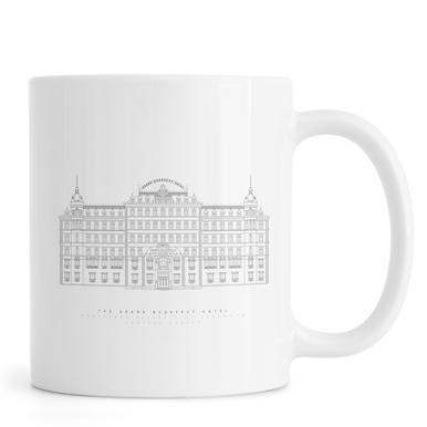Grand Budapest Hotel -Tasse