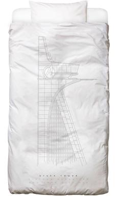 Stark Tower Bed Linen