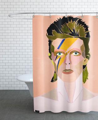 David Bowie Portrait douchegordijn