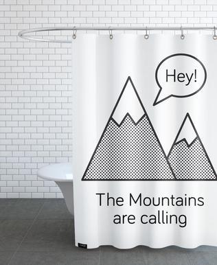 Mountains rideau de douche
