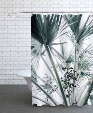 Beach Palm Fruits -Duschvorhang