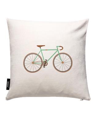 Green Fixie Cushion Cover